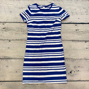 Primary Photo - BRAND: OLD NAVY STYLE: DRESS SHORT SHORT SLEEVE COLOR: STRIPED SIZE: S OTHER INFO: BLUE/WHITE SKU: 178-178174-1069