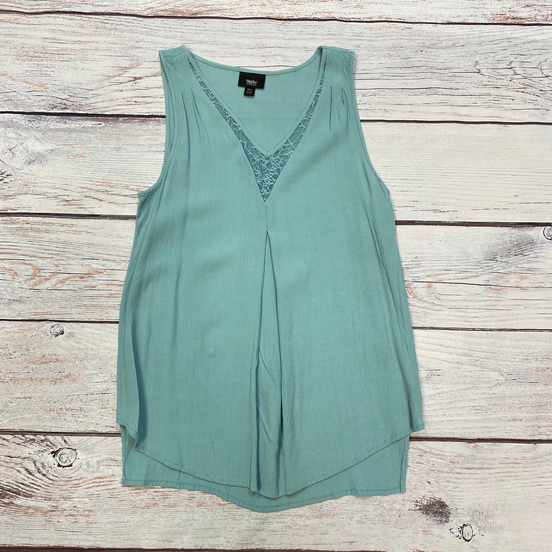 Primary Photo - BRAND: MOSSIMO <BR>STYLE: TOP SLEEVELESS <BR>COLOR: LIGHT BLUE <BR>SIZE: XS <BR>SKU: 178-178166-1290