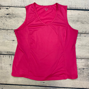Primary Photo - BRAND: CHAMPION STYLE: ATHLETIC TANK TOP COLOR: PINK SIZE: XL SKU: 178-178203-1281
