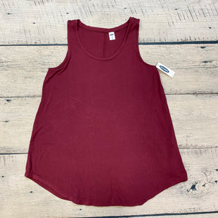 Primary Photo - BRAND: OLD NAVY STYLE: TOP SLEEVELESS BASIC COLOR: MAROON SIZE: XS SKU: 178-178212-3230