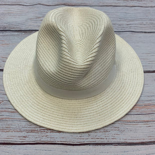 Primary Photo - BRAND: WHITE HOUSE BLACK MARKET STYLE: HAT COLOR: WHITE OTHER INFO: STRAW FEDORA SKU: 178-178168-8835