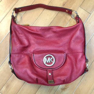 Primary Photo - BRAND: MICHAEL BY MICHAEL KORS STYLE: HANDBAG DESIGNER COLOR: RED SIZE: LARGE OTHER INFO: SLIGHT STAINING SKU: 178-17883-14312