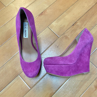Primary Photo - BRAND: STEVE MADDEN STYLE: SHOES HIGH HEEL COLOR: PURPLE SIZE: 7 SKU: 178-178182-2437