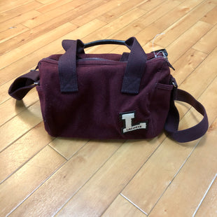 Primary Photo - BRAND: LACOSTE STYLE: HANDBAGCOLOR: BURGUNDY SIZE: MEDIUM SKU: 217-217152-6206