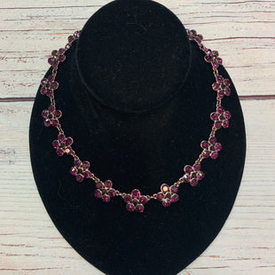 Primary Photo - BRAND: ANN TAYLOR STYLE: NECKLACE COLOR: PURPLE OTHER INFO: FLOWERS SKU: 178-178212-5902