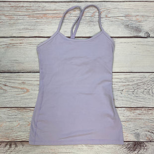 Primary Photo - BRAND: LULULEMON STYLE: ATHLETIC TANK TOP COLOR: LAVENDER SIZE: S OTHER INFO: SIZE 4 SKU: 178-178102-62194