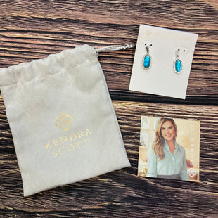 Primary Photo - BRAND: KENDRA SCOTT JEWLERY STYLE: EARRINGS COLOR: BLUE OTHER INFO: NEW! SKU: 178-17883-15022