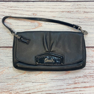 Primary Photo - BRAND: COACH STYLE: WALLET COLOR: BLACK SIZE: MEDIUM SKU: 178-178182-4782