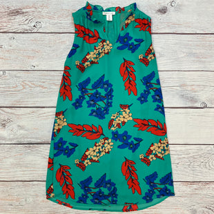 Primary Photo - BRAND:    TABITHA WEBBSTYLE: DRESS SHORT SLEEVELESS COLOR: KELLY GREEN SIZE: XS OTHER INFO: TABITHA WEBB - RED/BLUE/TAN FLOWERS SKU: 178-178203-4689