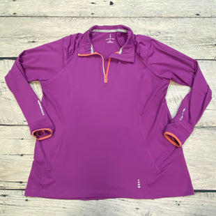 Primary Photo - BRAND: LANDS END STYLE: ATHLETIC JACKET COLOR: FUSCHIA SIZE: 1X OTHER INFO: QUARTER ZIP SKU: 178-178212-2157