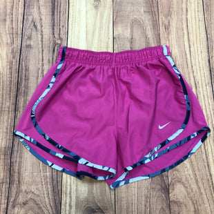 Primary Photo - BRAND: NIKE APPAREL STYLE: ATHLETIC SHORTS COLOR: PURPLE SIZE: S OTHER INFO: NAVY FLORAL TRIM SKU: 178-178102-56352
