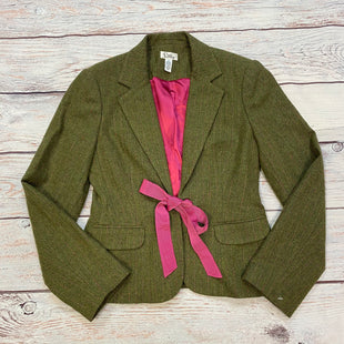 Primary Photo - BRAND: LILLY PULITZER STYLE: BLAZER JACKET COLOR: OLIVE SIZE: S OTHER INFO: W/PINK SKU: 178-178168-6281