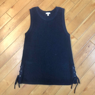 Primary Photo - BRAND: TALBOTS STYLE: SWEATER SHORT SLEEVE COLOR: NAVY SIZE: S SKU: 178-178160-17955