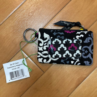 Primary Photo - BRAND: VERA BRADLEY STYLE: WRISTLET COLOR: PRINT OTHER INFO: NEW! BLACK/GREY/WHITE/PURPLE SKU: 178-178102-54631