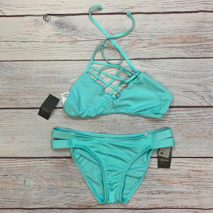 Primary Photo - BRAND: MOSSIMO STYLE: SWIMSUIT 2PC COLOR: AQUA SIZE: S SKU: 178-178203-2444