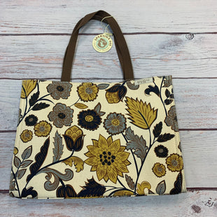 Primary Photo - BRAND: SPARTINA STYLE: HANDBAG COLOR: FLORAL SIZE: LARGE OTHER INFO: NEW! MARKET TOTE CREAM/BLUE/YELLOW SKU: 178-178174-1343