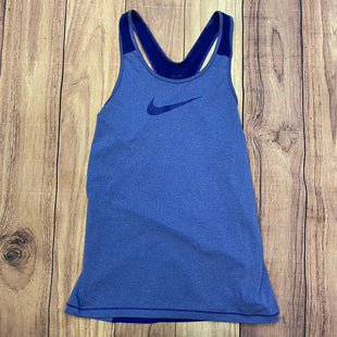 Primary Photo - BRAND: NIKE STYLE: ATHLETIC TANK TOP COLOR: BLUE SIZE: M OTHER INFO: DARKER NIKE SIGN SKU: 178-178199-1797