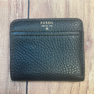 Primary Photo - BRAND: FOSSIL STYLE: WALLET COLOR: BLACK SIZE: SMALL SKU: 178-178212-2468