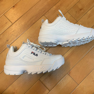 Primary Photo - BRAND: FILA STYLE: SHOES ATHLETIC COLOR: WHITE SIZE: 8.5 SKU: 178-178199-2934