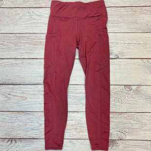 Primary Photo - BRAND: FABLETICS STYLE: ATHLETIC PANTS COLOR: MAROON SIZE: M SKU: 178-178212-3537