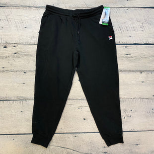 Primary Photo - BRAND: FILA STYLE: ATHLETIC PANTS COLOR: BLACK SIZE: XL OTHER INFO: NEW! SKU: 178-178102-61081
