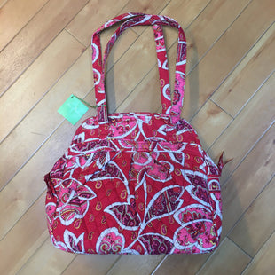 Primary Photo - BRAND: VERA BRADLEY STYLE: HANDBAG COLOR: PRINT SIZE: LARGE OTHER INFO: NEW! RED/PINK/WHITE SKU: 178-17883-13418