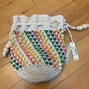 Primary Photo - BRAND: MADEWELL STYLE: WRISTLET COLOR: MULTI OTHER INFO: KNIT W/ RED/YELLOW/BLUE/GREEN BEADS SKU: 178-17883-15036