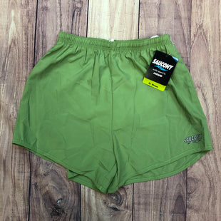 Primary Photo - BRAND: SAUCONY STYLE: ATHLETIC SHORTS COLOR: GREEN SIZE: S OTHER INFO: NEW! SKU: 178-17883-15998