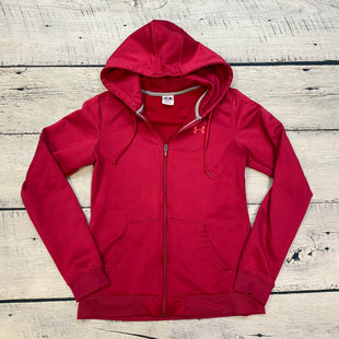 Primary Photo - BRAND: UNDER ARMOUR STYLE: ATHLETIC JACKET COLOR: MAGENTA SIZE: M SKU: 178-178102-56826