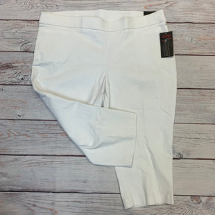 Primary Photo - BRAND: BRIGGS STYLE: PANTS COLOR: WHITE SIZE: 24 OTHER INFO: NEW! SKU: 178-178196-87