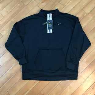 Primary Photo - BRAND: NIKE STYLE: ATHLETIC JACKET COLOR: BLACK SIZE: L OTHER INFO: NEW! SLIGHT PULL ON FRONT POCKET SKU: 178-178212-3167