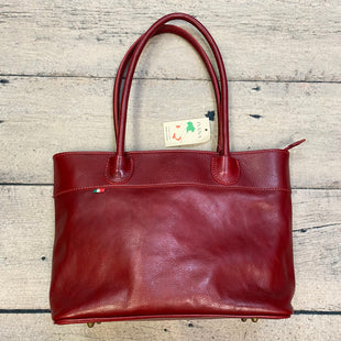 Primary Photo - BRAND:  IVANA STYLE: HANDBAG LEATHER COLOR: RED SIZE: LARGE OTHER INFO: IVANA - NEW! MSRP $95 GENUINE LTHR SKU: 178-178102-63239