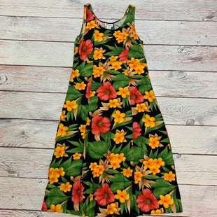 Primary Photo - BRAND: DARIAN STYLE: DRESS LONG SLEEVELESS COLOR: FLORAL SIZE: L OTHER INFO: YELLOW/GREEN/RED/FLORAL SKU: 178-17853-1175