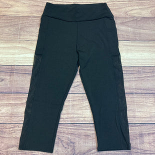 Primary Photo - BRAND:    AJSTYLE: ATHLETIC CAPRIS COLOR: BLACK SIZE: XL OTHER INFO: AJ - NWT! SKU: 178-178203-2040
