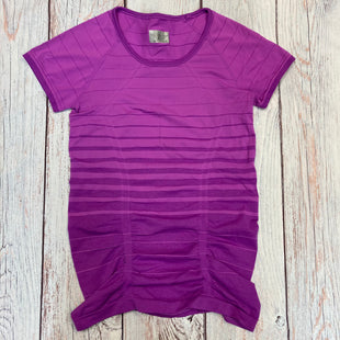 Primary Photo - BRAND: ATHLETA STYLE: ATHLETIC TOP SHORT SLEEVE COLOR: PURPLE SIZE: S SKU: 178-178212-3333