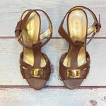 Photo #4 - BRAND: MARC FISHER <BR>STYLE: SANDALS HIGH <BR>COLOR: BROWN <BR>SIZE: 6 <BR>SKU: 178-178102-63030