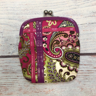 Primary Photo - BRAND: VERA BRADLEY STYLE: COIN PURSE COLOR: FLORAL SIZE: LARGE OTHER INFO: KISSLOCK-PINK/PURPLE/GREEN/BLUE/WHITE SKU: 178-178102-58841