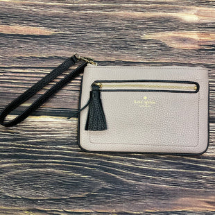 Primary Photo - BRAND: KATE SPADE STYLE: COIN PURSE COLOR: TAUPE SIZE: LARGE OTHER INFO: BLACK TASSLE SKU: 178-178214-596