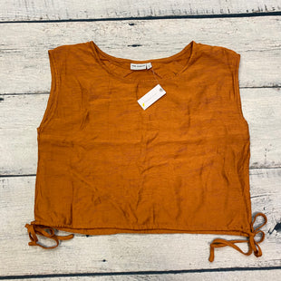 Primary Photo - BRAND: ANTHROPOLOGIE STYLE: TOP SLEEVELESS COLOR: MUSTARD SIZE: S OTHER INFO: NEW! THE ODELLS SKU: 178-17883-14715