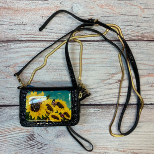 Primary Photo - BRAND:   DABBIA BROOKS STYLE: WRISTLET COLOR: BLACK OTHER INFO: DABBIA BROOKS - W/ 2 CROSSBODY STRAPS - SUNFLOWER SKU: 178-178212-1124