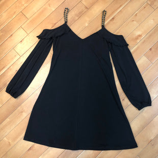 Primary Photo - BRAND: MICHAEL BY MICHAEL KORS STYLE: DRESS SHORT LONG SLEEVE COLOR: BLACK SIZE: S SKU: 178-178182-1886