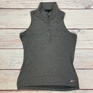 Primary Photo - BRAND: NIKE STYLE: ATHLETIC TANK TOP COLOR: GREY SIZE: M OTHER INFO: GOLF TOP SKU: 178-178212-4783
