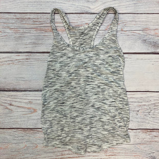Primary Photo - BRAND: LULULEMON STYLE: ATHLETIC TANK TOP COLOR: WHITE BLACK SIZE: S OTHER INFO: TIE AT BACK SKU: 178-178212-4867