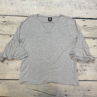 Primary Photo - BRAND: BOBEAU STYLE: TOP LONG SLEEVE COLOR: GREY SIZE: 2X SKU: 178-17817-26883