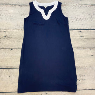Primary Photo - BRAND: TALBOTS O STYLE: DRESS SHORT SLEEVELESS COLOR: NAVY SIZE: XL OTHER INFO: WHITE TRIMS SKU: 178-178102-63053