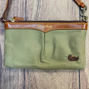 Primary Photo - BRAND: DOONEY AND BOURKE STYLE: WRISTLET COLOR: OLIVE OTHER INFO: NYLON W/ CAMEL LTHR TRIMS SKU: 178-178102-57127
