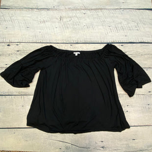 Primary Photo - BRAND: GREEN ENVELOPE STYLE: TOP LONG SLEEVE COLOR: BLACK SIZE: 2X SKU: 178-178102-57826