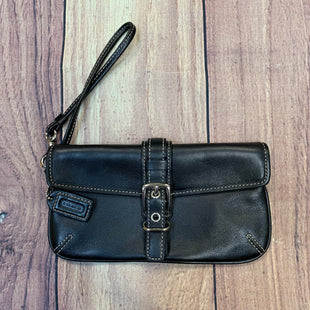 Primary Photo - BRAND: COACH STYLE: WRISTLET COLOR: BLACK OTHER INFO: GENUINE LEATHER SKU: 178-178102-55804