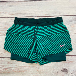 Primary Photo - BRAND: NIKE APPAREL STYLE: ATHLETIC SHORTS COLOR: STRIPED SIZE: M OTHER INFO: GREEN/MINT SKU: 178-178102-63729