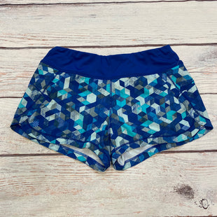 Primary Photo - BRAND: ATHLETA STYLE: ATHLETIC SHORTS COLOR: PRINT SIZE: S OTHER INFO: BLUE/GREY/NAVY/AQUA SKU: 178-178102-63730